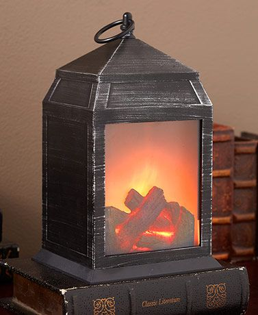 Realistic Fireplace Lantern In 2020 With Images Lanterns