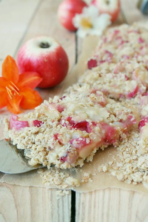 Hafer Pfirsich Bars Werbung Kolln Ladyapplepie Kuchen Mit Pfirsich Dessert Ideen Und Lecker