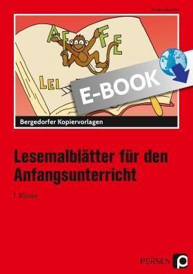 Lesemalblatter Fur Den Anfangsunterricht Bergedorfer
