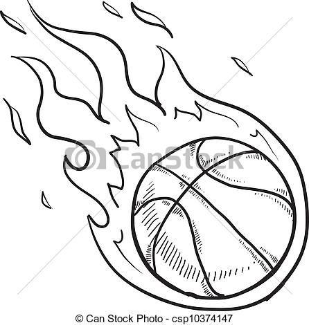 Basketball Drawing Google Search Ball Drawing Coloring Pages Basketball Drawings