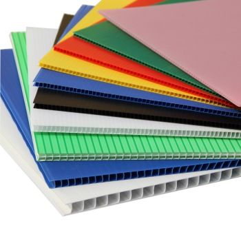 Resistant Polypropylene Exhibition Board Plastic Fluted Corrugated Hollow Core Corrugated Plastic Corrugated Plastic Sheets Polypropylene Plastic