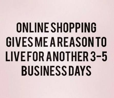 List of online shopping quotes retail therapy pictures and ...