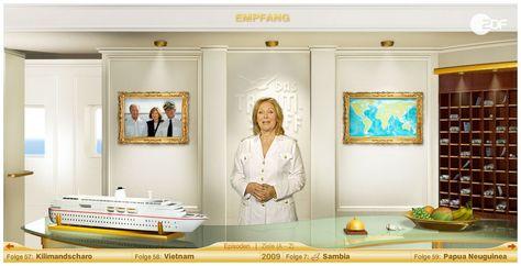 ZDF - Das Traumschiff - Microsite
