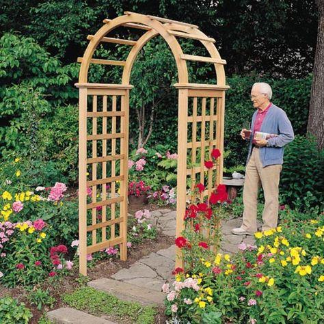 Lowes Garden Arbors Trellises Garden Arbor Pergola Garden Gazebo