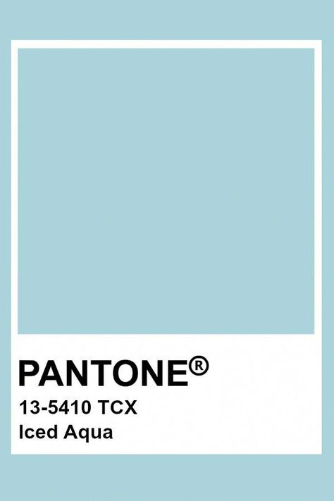 Iced Aqua #summerdecorationcolour