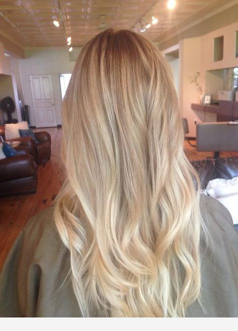 Ombre hair idea for more