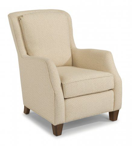 Allison Flexsteel Furniture Chair Fabric Living Room Chairs