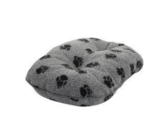 Sherpa Fleece Quilted Pet Mattress Danish Design Size 84 Cm 33 Colour Grey Dog Cushions Fleece Dog Bed Mattress Dog Bed