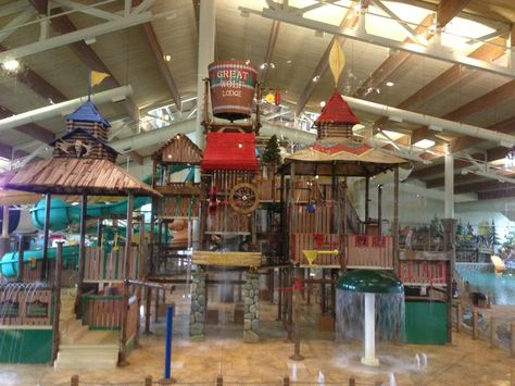 Great Wolf Lodge, Grapevine TX - is a massive indoor/outdoor water park.
