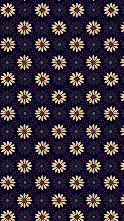 Light and dark sunflowers phone background