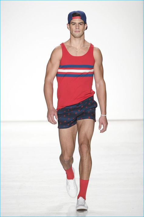 Male Fashion Trends: Parke & Ronen Spring-Summer 2017 New York Fashion Week Men's