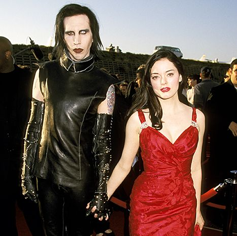 Rose McGowan explained why she and Marilyn Manson broke off their engagement in plus, she talks about a Charmed reunion and Adam Sandler