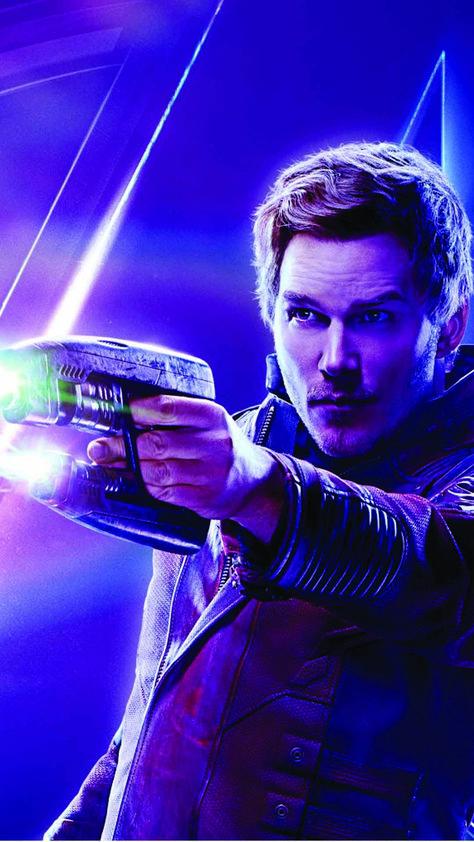 Chris Pratt In Avengers Infinity War 4K Ultra HD Mobile Wallpaper