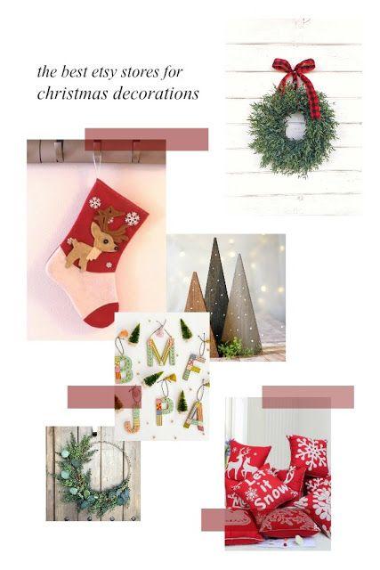 Sunshine Guerrilla The Best Etsy Stores For Christmas Decorations In 2020 Christmas Decorations Christmas Little Christmas Trees