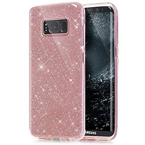 Galaxy S8 Plus Hulle Ukayfe Galaxy S8 Plus Glitzer Glanzende Tpu Case Ultra Slim Hulle Tpu Silikon Bumper Bumper Case Krat Handy Schutzhulle Silikon