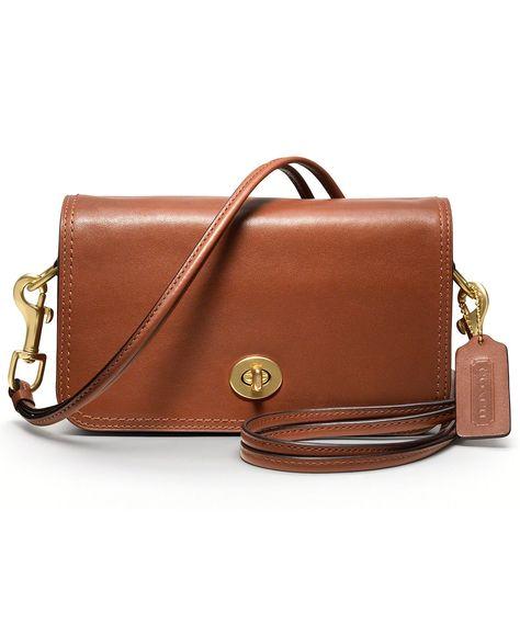 COACH LEGACY LEATHER PENNY SHOULDER PURSE - Coach Handbags - Handbags & Accessories - Macy's