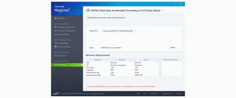 Samsung Magician 4 2 First Look - New SSD Toolkit adds Rapid Mode