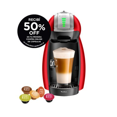 Cafetera Dolce Gusto Genio 2 Moulinex Pv1605 Cafetera Dolce