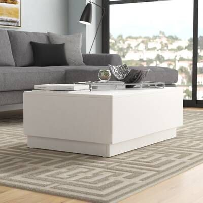 Lift Top Coffee Table With Storage Reviews Allmodern Coffee Table Contemporary Decor Living Room Stylish Coffee Table