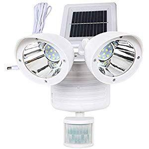 Solar Betrieben LED Strahler Spot Garten Außenbereich Lampe