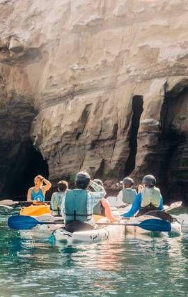 Kayak in La Jolla — Airbnb Experience | Go in 2019