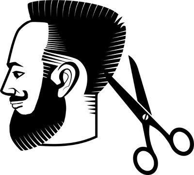Man Haircut Barber Hair Salon Logo Icon Clipart Jpg Png Etsy Hair Salon Logos Salon Logo Clip Art
