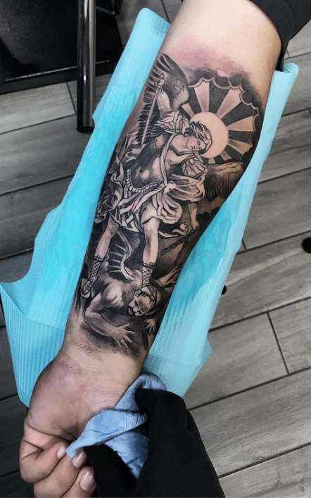 Tattoo christian sleeve design 36+ ideas
