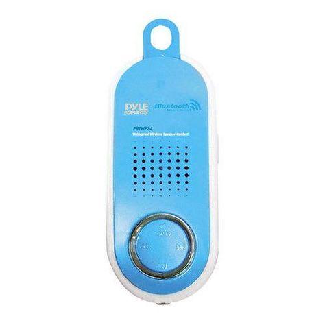 Surf Sound Talk 2-in-1 Waterproof Bluetooth Speaker /& Handset For Cell Phones