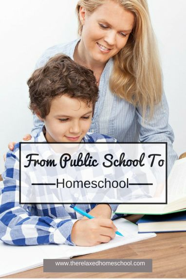 Transition From Public To Homeschool