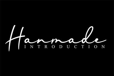 Hanmade (Font) by andikastudio · Creative Fabrica