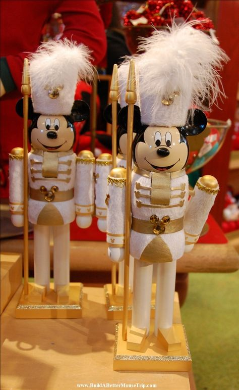Mickey Mouse Nutcracker sold at Disney World.   Top 10 tips for visiting Disney World at Christmas available at See: http://www.buildabettermousetrip.com/top-tips-for-disney-world-at-christmas