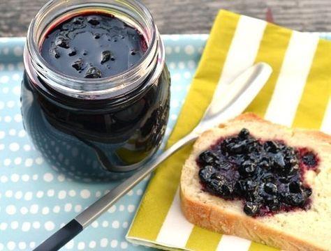 svartvinbärssylt utan socker
