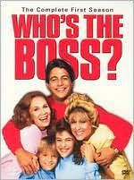 Who's the Boss? In this sitcom, high powered advertising exec Angela Bower (Judith Light ) hired a hunky male housekeeper (Tony Danza) Pushpa Padayichie