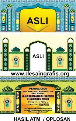 Banner Tahun Baru Hijriyah : banner, tahun, hijriyah, Contoh, Desain, Banner, Mi'raj, Tahun, Hijriyah, (Muharram), Ramadhan, Silaturahim, Banner,, Muharram,, Selancar
