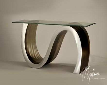 Cst15rba Meandering Console Contemporary Console Table Modern