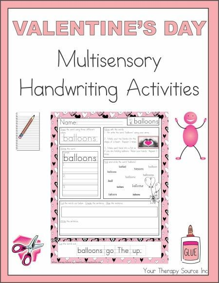 play based writing activities