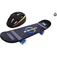 Jaspo Hurricane Dual Combo 27 X 6 5 Wooden Skateboard With Helmet Skates Skateboards Scooters Skateboard Helmet Sports