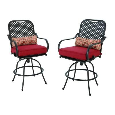 18+ Fall river 7 piece patio dining set with chili cushion Inspiration