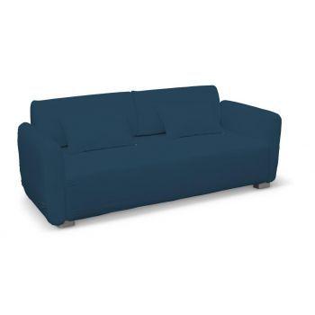 Mysinge 2 Sitzer Sofabezug Marinenblau 702 30 Sofabezug