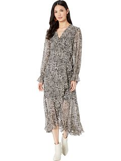 Bcbgmaxazria Printed High Low Dress High Low Dress Dresses Clothes For Women