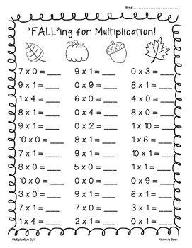 47++ Multiplication worksheets 1 5 Live