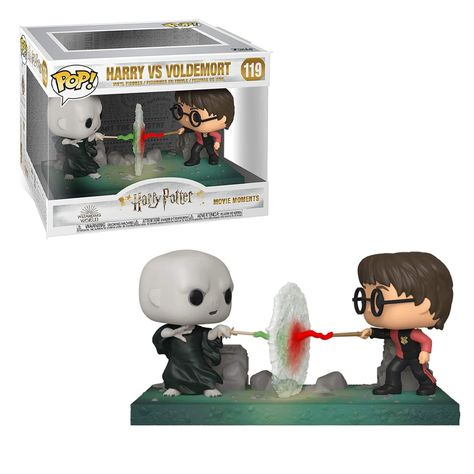 Funko POP! Movie Moment: Harry Potter - Harry vs Voldemort Vinyl Figure