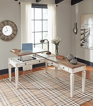 Realyn Home Office Lift Top Desk Ashley Furniture Homestore Home Home Office Design Home Office Desks