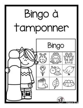 Admirable Bingo à tamponner préscolaire (printemps) in 2020 | Bingo, Teacher YP-79