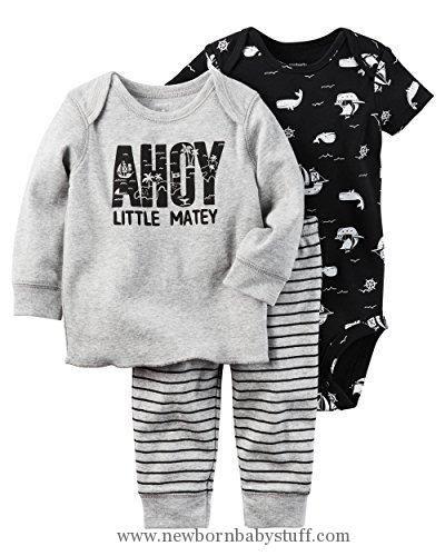 2f03b2f22 Baby Boy Clothes Carters Baby Boys 3 Piece Take Me Away Set (Baby ...