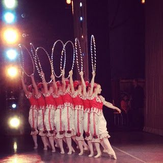 candy canes (Russian Dance from NYCB Nutcracker)