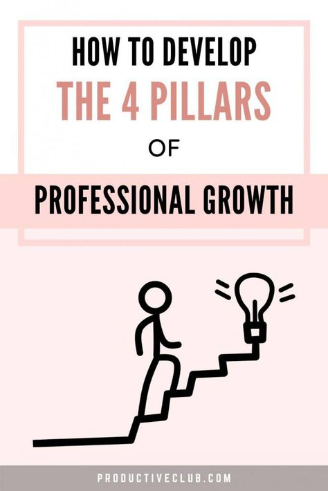 The 4 Pillars of Professional Growth