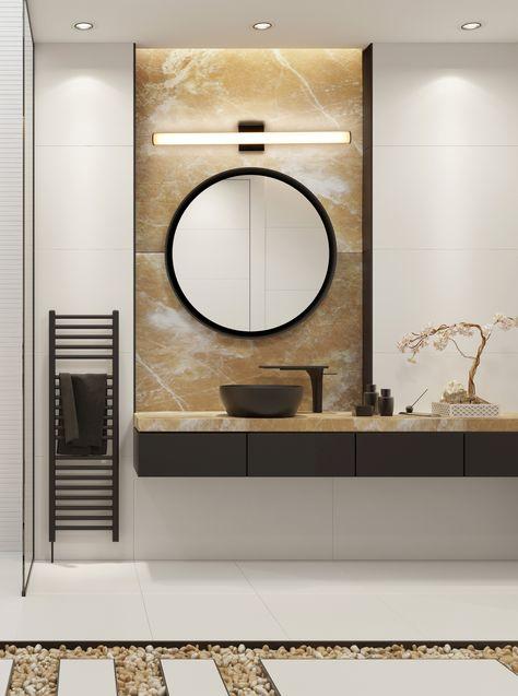 220 Bathroom Lighting Ideas In 2021 Bathroom Lighting Vanity Lighting Great Bathrooms