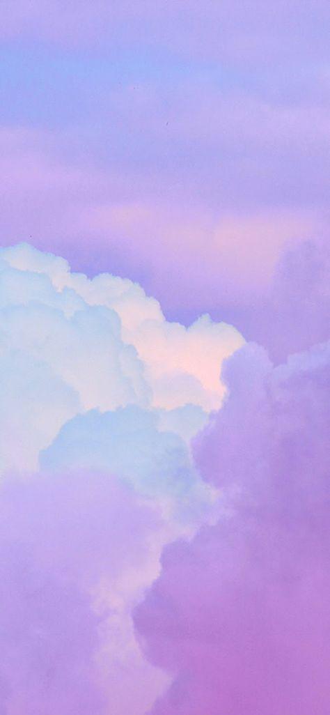 Iphone 11 Wallpaper Cloud Sky Purple Art Iphone X 768x1663