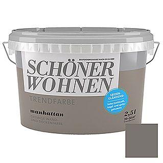 Dispersionsfarben Bunt Bauhaus Schoner Wohnen Wandfarbe Wandfarbe